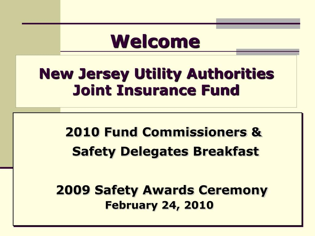 new jersey utility authorities joint insurance fund l.