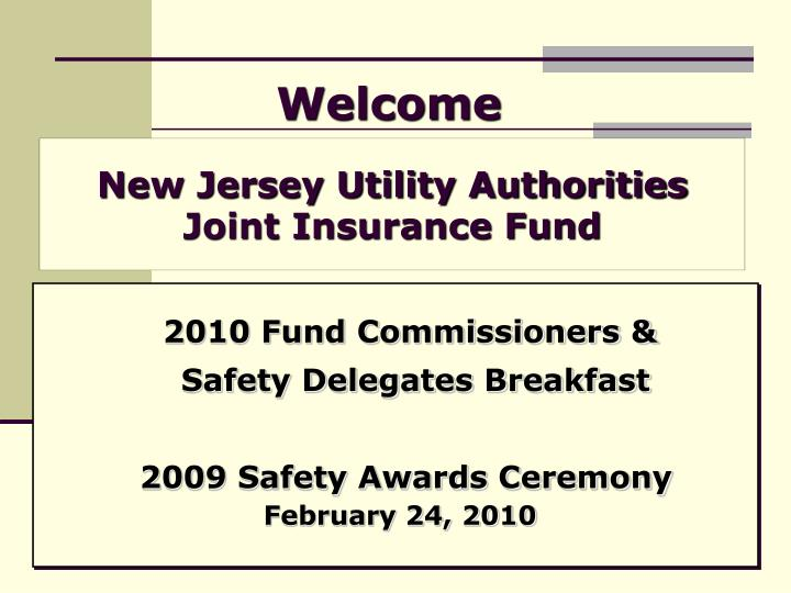 new jersey utility authorities joint insurance fund n.