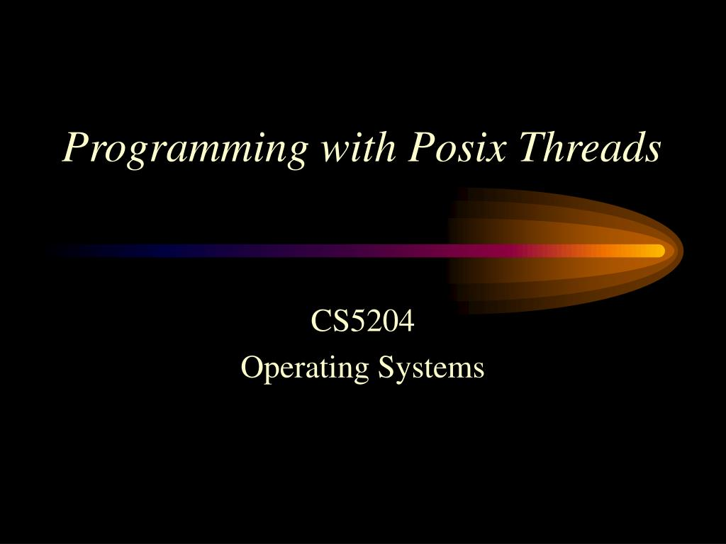 programming with posix threads l.
