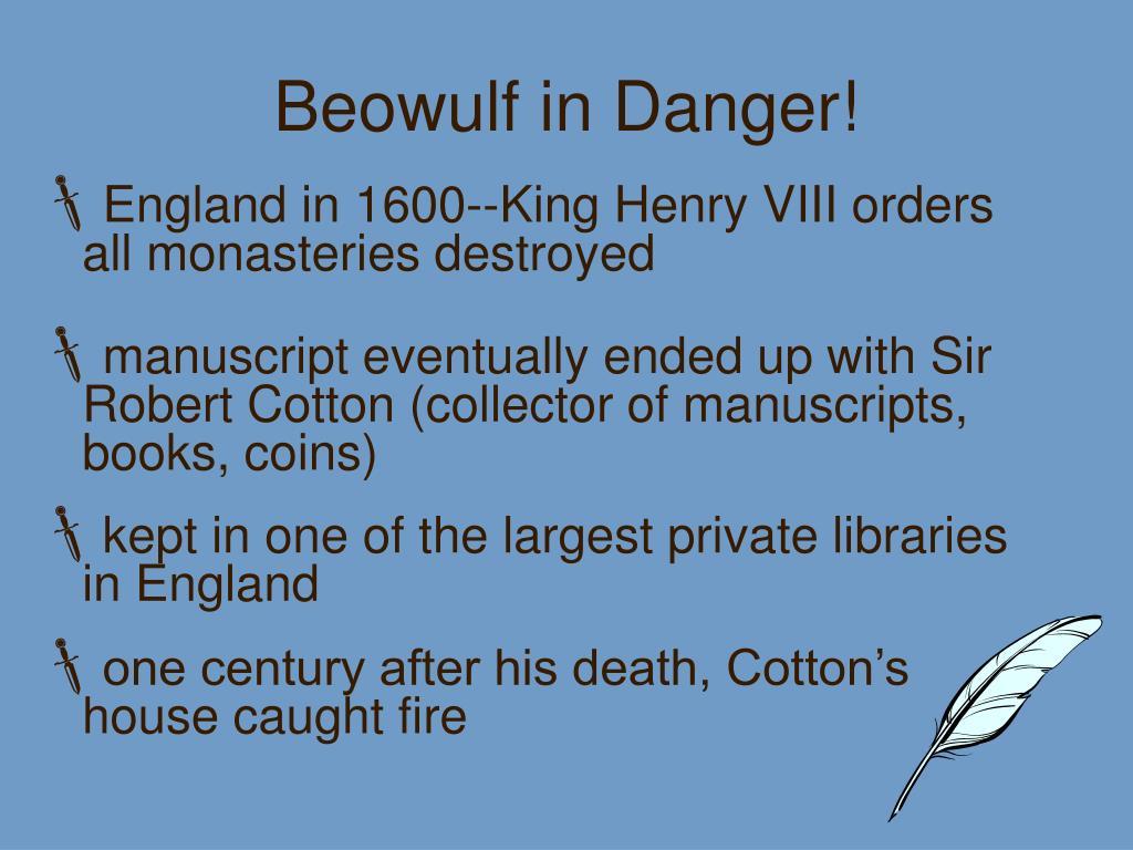 Beowulf in Danger!
