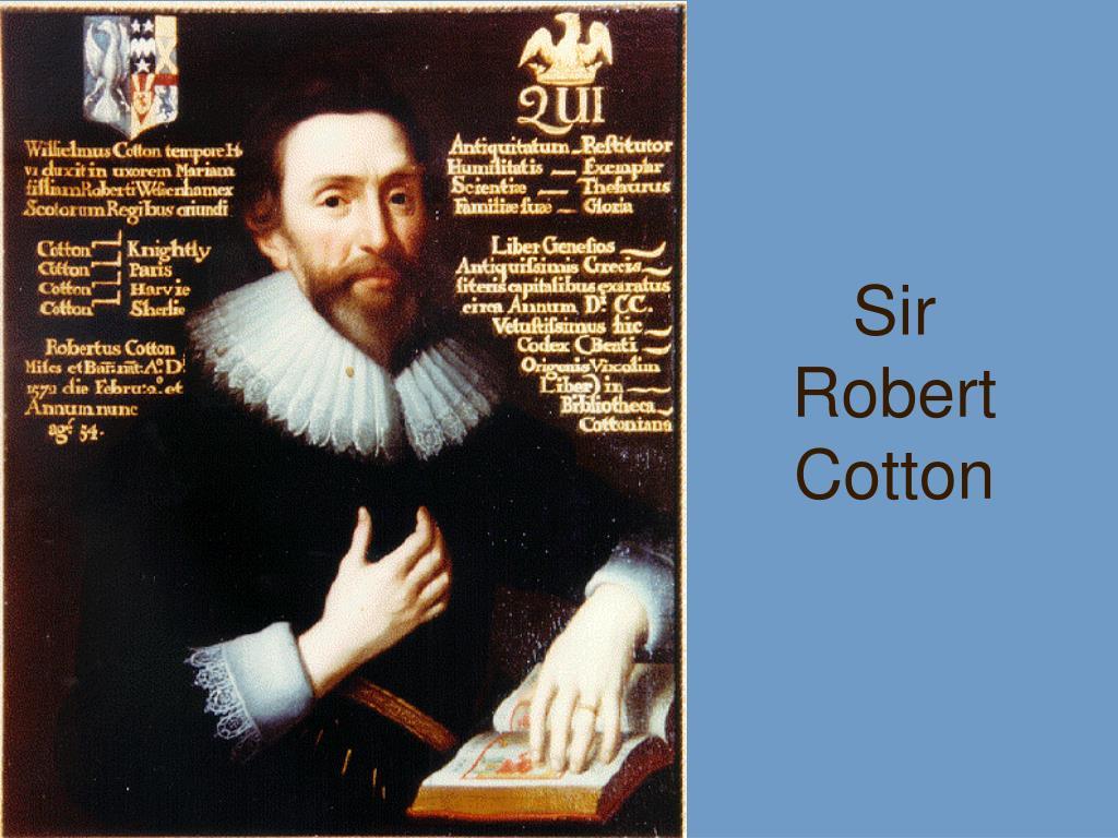 Sir Robert Cotton