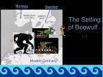 the setting of beowulf