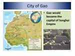 city of gao