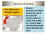 decline of ghana