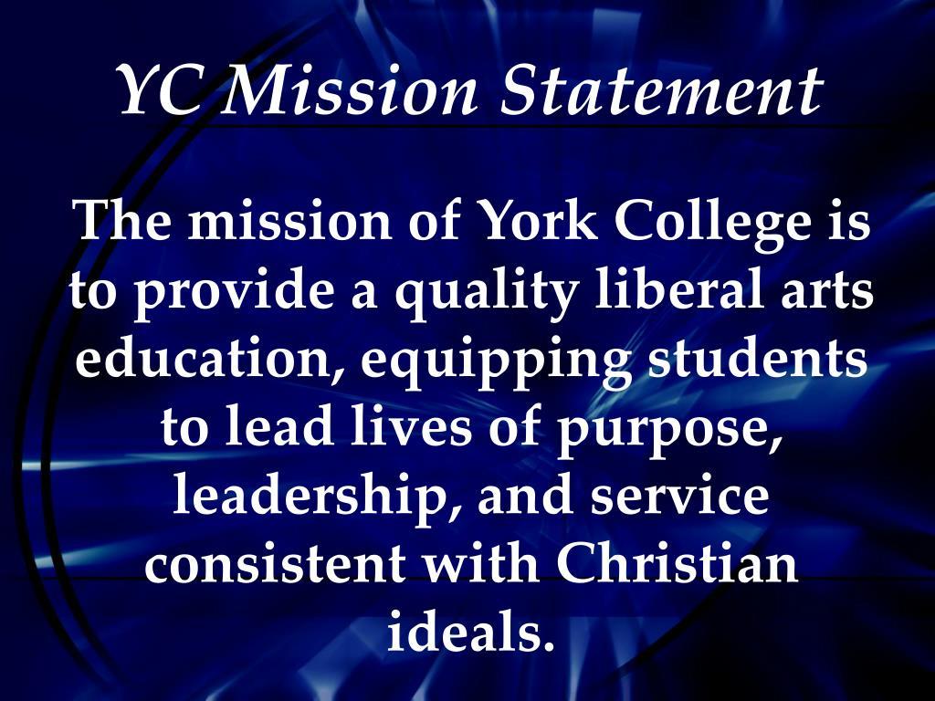 YC Mission Statement