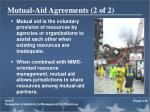 mutual aid agreements 2 of 2
