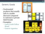 generic goods