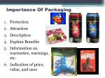importance of packaging