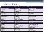 university products http www enotes com business finance encyclopedia product mix