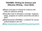 fahamu writing for science and effective writing core skills