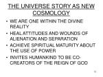the universe story as new cosmology10