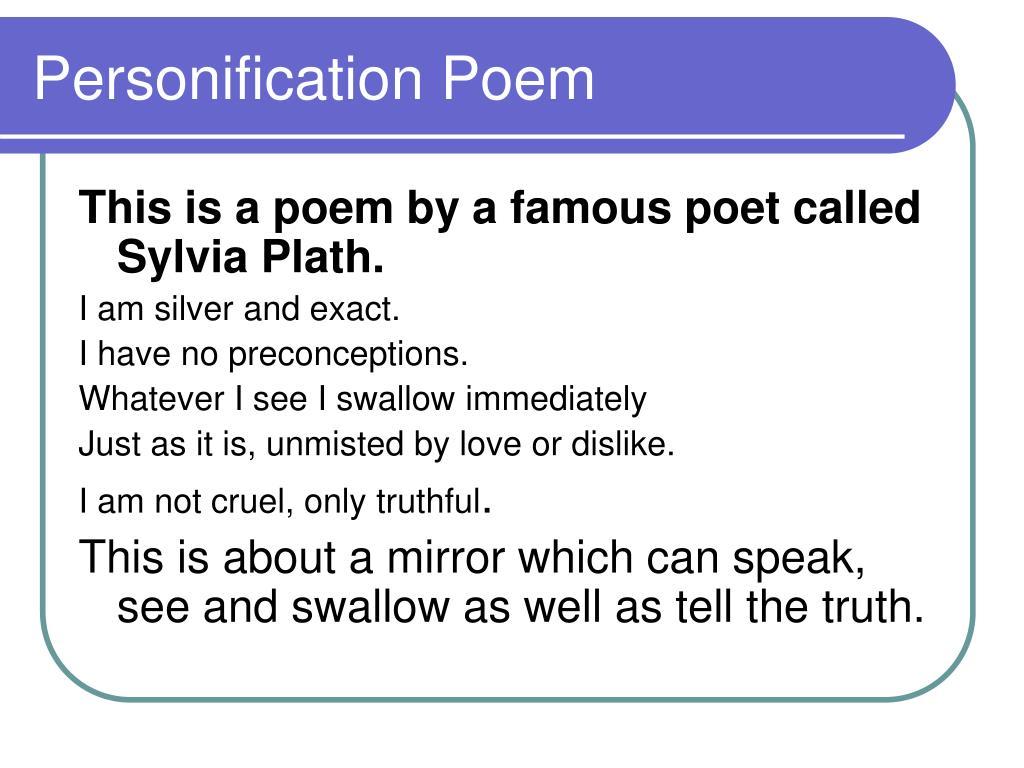 Personification Poem