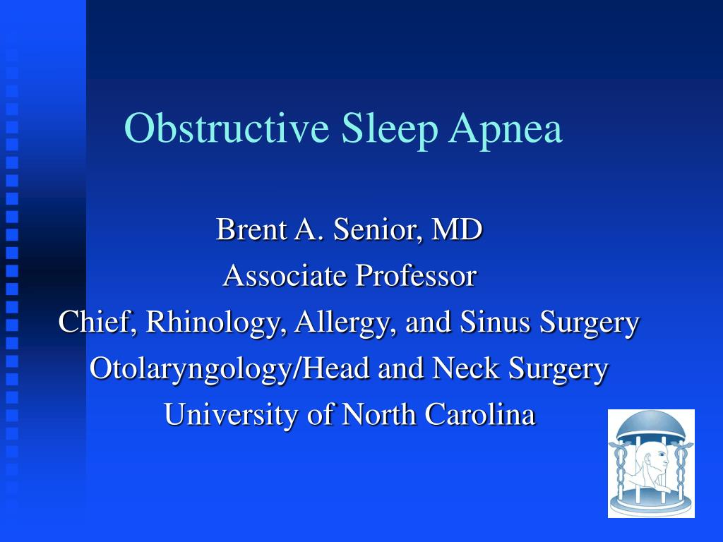 obstructive sleep apnea l.