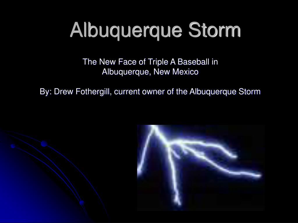 albuquerque storm l.