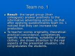 team no 12