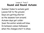 lesson 4 track 7 round and round autumn
