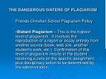 the dangerous waters of plagiarism25