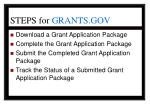 steps for grants gov