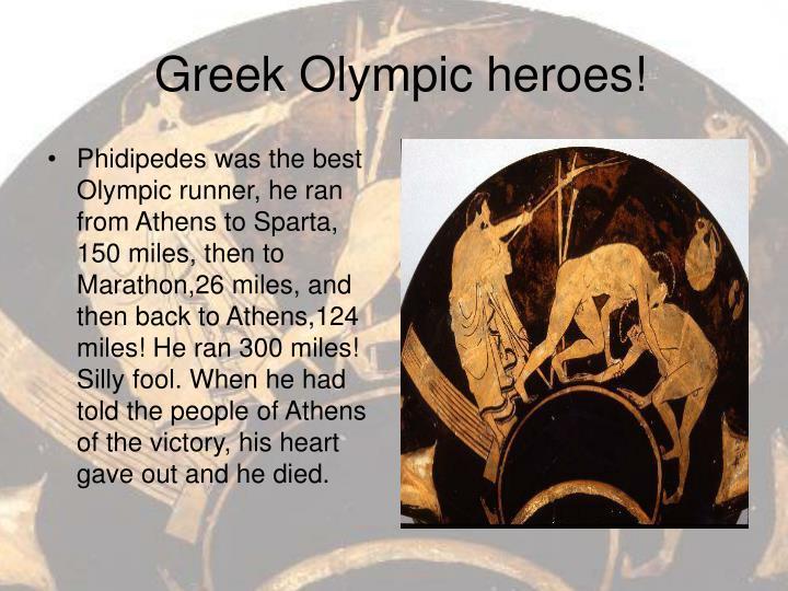 Greek olympic heroes