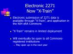 electronic 2271 now x train
