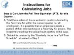 instructions for calculating jobs23