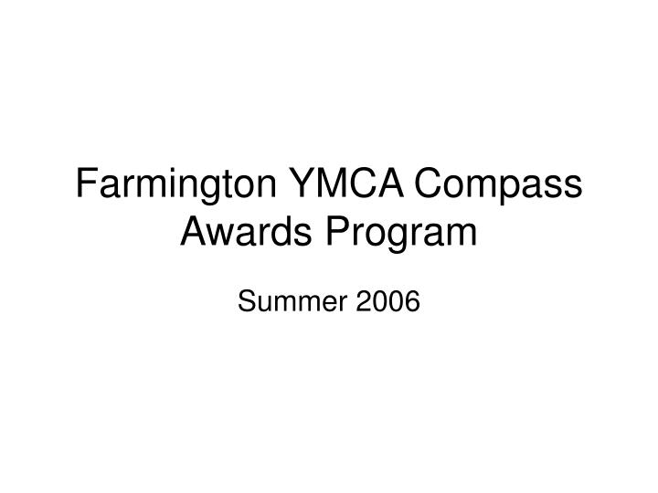 farmington ymca compass awards program n.