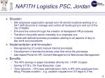 nafith logistics psc jordan