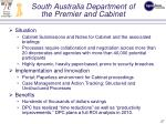 south australia department of the premier and cabinet