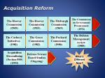 acquisition reform