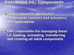 distributed os components