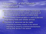 introspection of the network neighborhood45