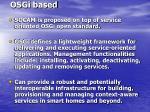 osgi based