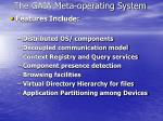 the gaia meta operating system