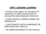 cmtc lessons learned