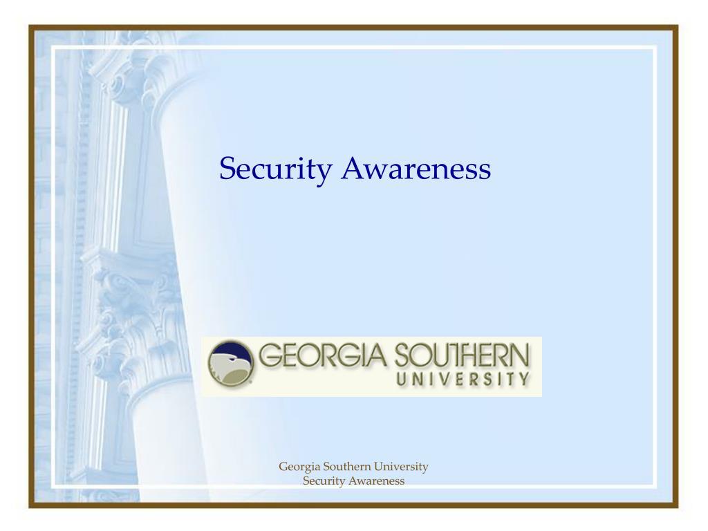 security awareness l.