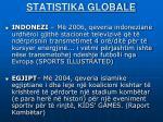 statistika globale