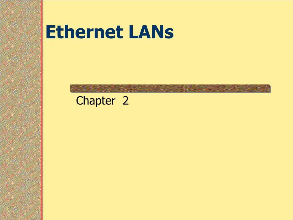 ethernet lans l.