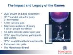 the impact and legacy of the games
