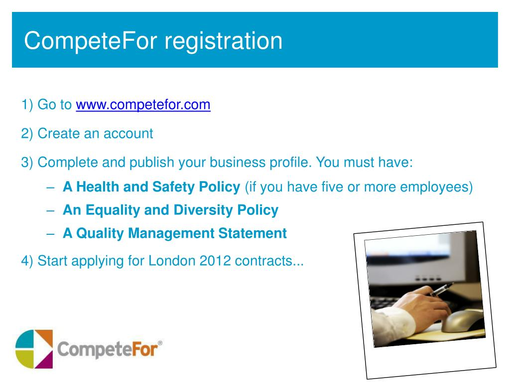 CompeteFor registration