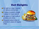 deli delights