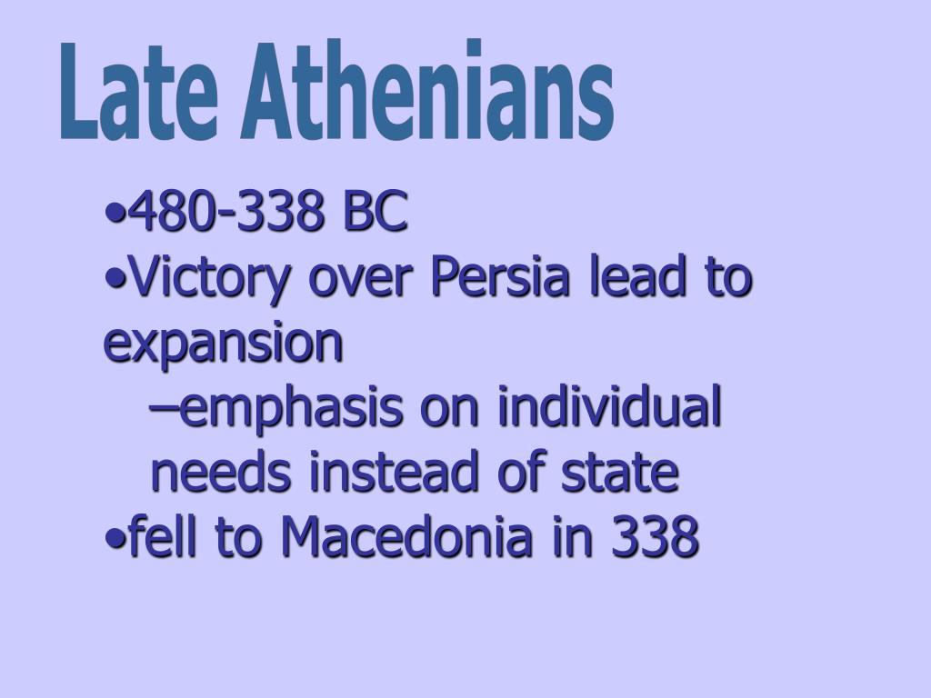 Late Athenians