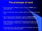 the prototype of neck