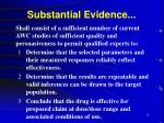 substantial evidence11