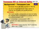tennessee bill on internet safety