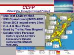 ccfp collaborative convective forecast product