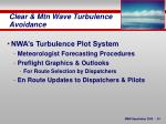 clear mtn wave turbulence avoidance