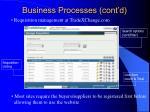 business processes cont d11