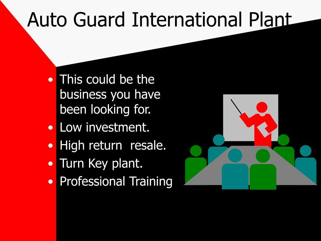 auto guard international plant l.