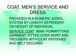 coat men s service and dress