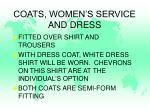 coats women s service and dress